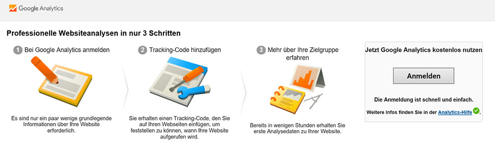 Schritte zur Webanalyse mit Google Analytics | miss-webdesign.at