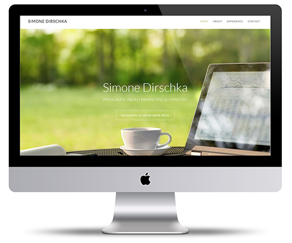 Simone Dirschka - passionate about marketing and espresse | Webdesign und Beratung durch miss-webdesign.at