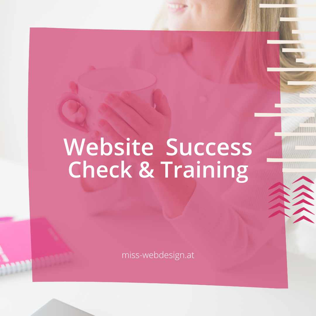 Website Success Check und Training | miss-webdesign.at